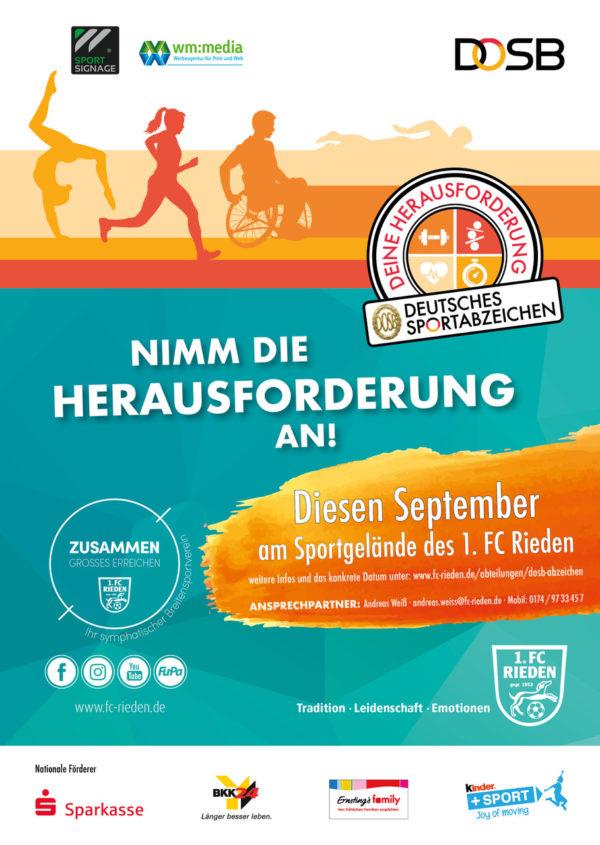 Rieden bewegt sich: Bike & Run beim 1. FC Rieden