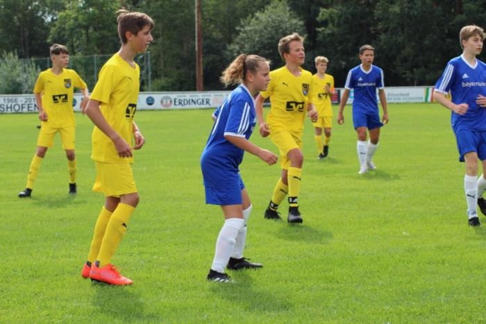 Testspiel U14 vs. FC Amberg